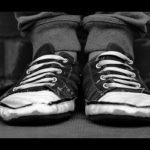 Taube Füße